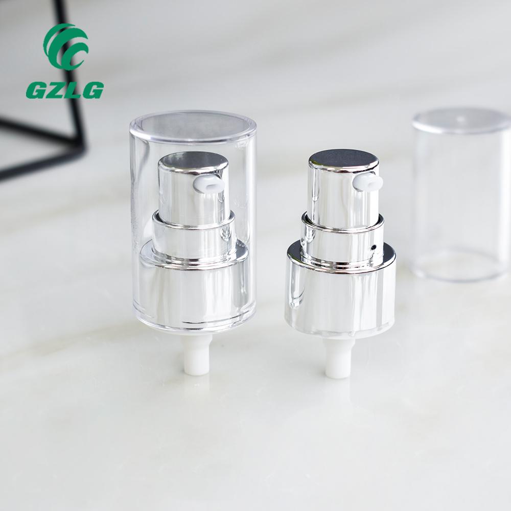 Насосы для лосьона 24/410, белый насос для лосьона, 18 мм, без протекания, насос для жидкого крема для бутылок
