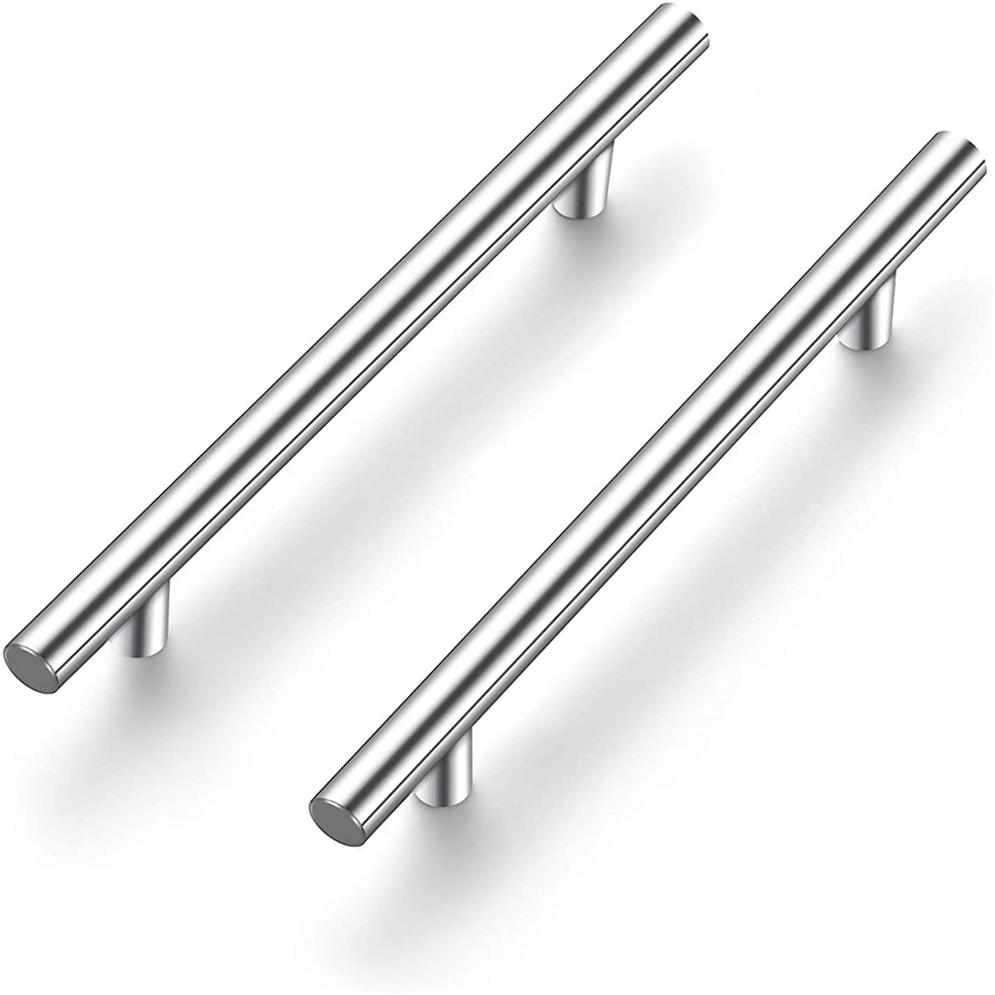Stainless Steel Kitchen Cabinet T Bar Handle Furniture Drawer Pull Cuoboard Knob