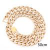 Gold 50cm necklace