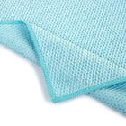 Towel Towels Microfiber Car Wash Towels Solid Square Cleaning Car Towel For Wash Dual Sides Microfiber Twist Loop Washing Small Car Towels Blue 30x30cm