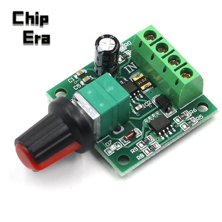Dc 1 8 V 3v 5v 6v 12v 12v 2a Pwm Controlador De Velocidad Del Motor De Bajo Voltaje Controlador De Velocidad Del Motor Pwm 0 100 Ajustable Módulo De Accionamiento