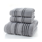 Wholesale Promotion Good Quality Solid Color Bath Towels 100 Cotton Custom Hotel Towels with Logo