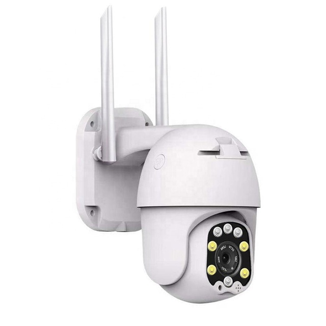 Auto Tracking PTZ IP Camera Outdoor H.265 Infrared WiFi Security Pan Tilt Digital Zoom 2MP Network CCTV Mini Dome Camera