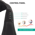 Back 16 Heads Body Portable Smart Shoulder Neck Massager Back Massage Tool With Heat