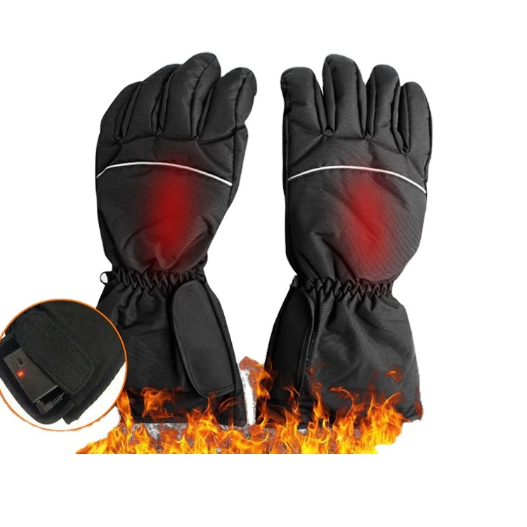 Hot Sale High-end Waterproof battery powered heated gloves for motorcycle hunting battery heated gloves rechargeable