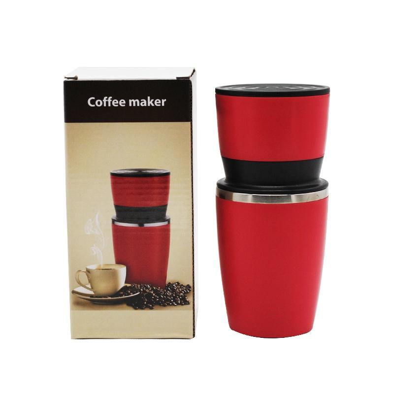 240 мл портативная кофейная бутылка, ручная кофеварка, эспрессо-машина типа ручного давления SS304, уличная кофеварка(Китай)