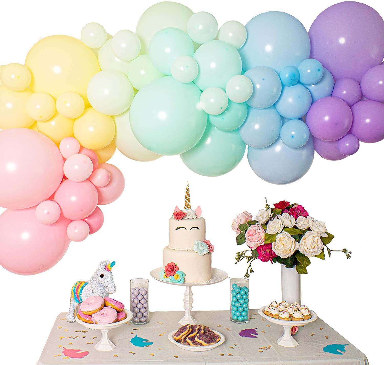 Оптовая продажа Пастельная гирлянда Арка комплект с днем рождения globos воздушный шар латексные Макарон воздушные шары наборы поставщиков
