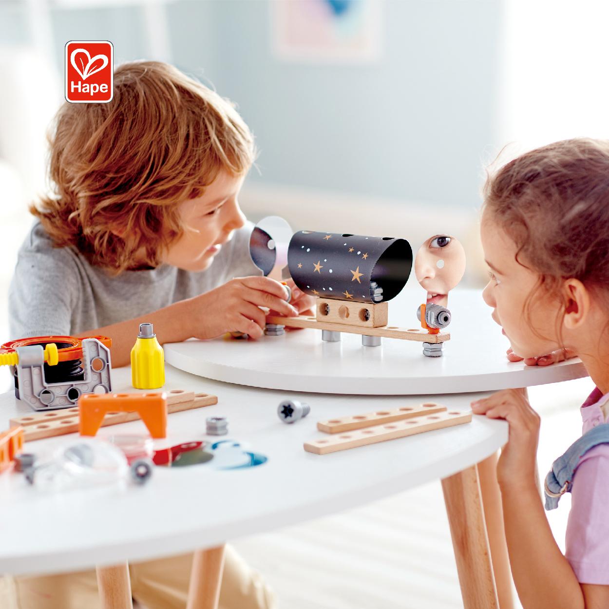 Hape научный эксперимент для детей Обучающие паровые обучающие игрушки