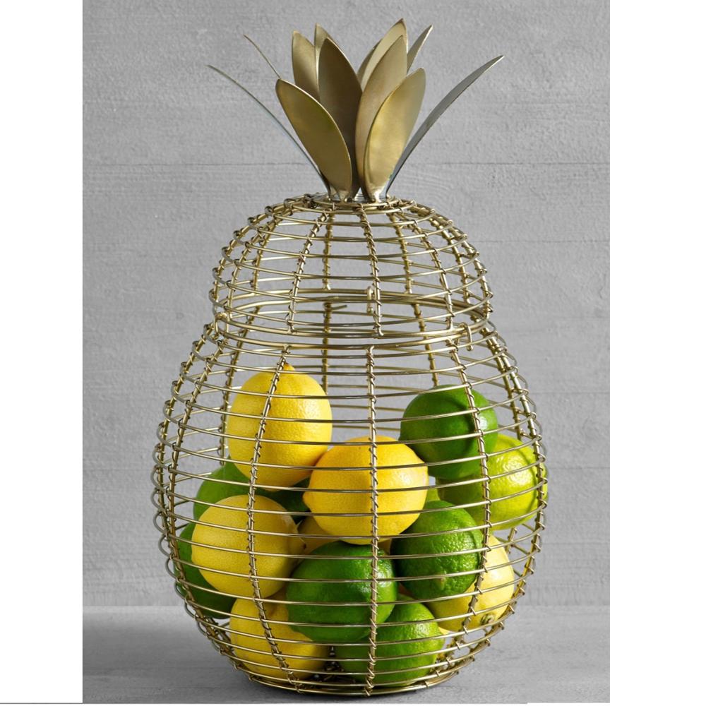 32 Pineapple Design Fruit Basket For Decoration   Buy Decorative ...