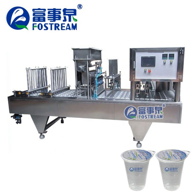 Factory Price 4 Lines Automatic Plastic Drinking Cup Water Filling Sealing Machine