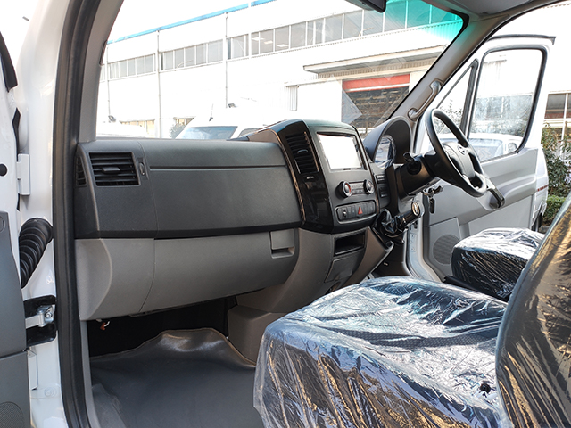 6m Excellent Quality Great Price pure electric van cargo truck