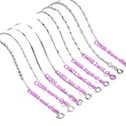 FREE SHIPPING variety style silver basic chain 40cm 45cm genuine solid 925 sterling silver chain for woman
