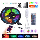 Rgb To 33.8 FT RGB Rope Lights Sync To Music 44 Key Remote Control And Compatible With Alexa/Google Assistant WiFi Led Strip Light