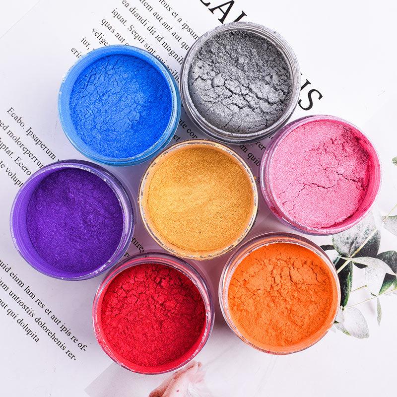 Sephcare Cake Decorating Additive Metallic Luster Dust Edible Glitter Pigment Food Ingredient