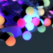 ICOCO 12 м 100 светодиодная гирлянда, сказочные огни для вечерние украшения дома на Рождество и Хэллоуин, водонепроницаемая акция(Китай)