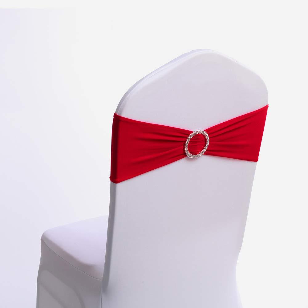 Сыпучие 48 мм лямки пряжки бутик округленное серебристого цвета с пряжкой, украшенной стразами; Стул створки ползунок для ленты, для свадебной вечеринки, для домашнего использования