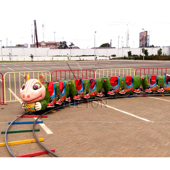 Kids Import From China Amusement Park Rides Passenger Carnival Games Electric Mini Track Train For Sale