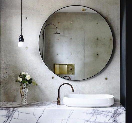 Round Black Bronze Framed Bathroom Vanity Mirror Buy Round Metal Framed Mirror Framed Bathroom Mirror Wall Mounted Bathroom Metal Frame Mirror Product On Alibaba Com