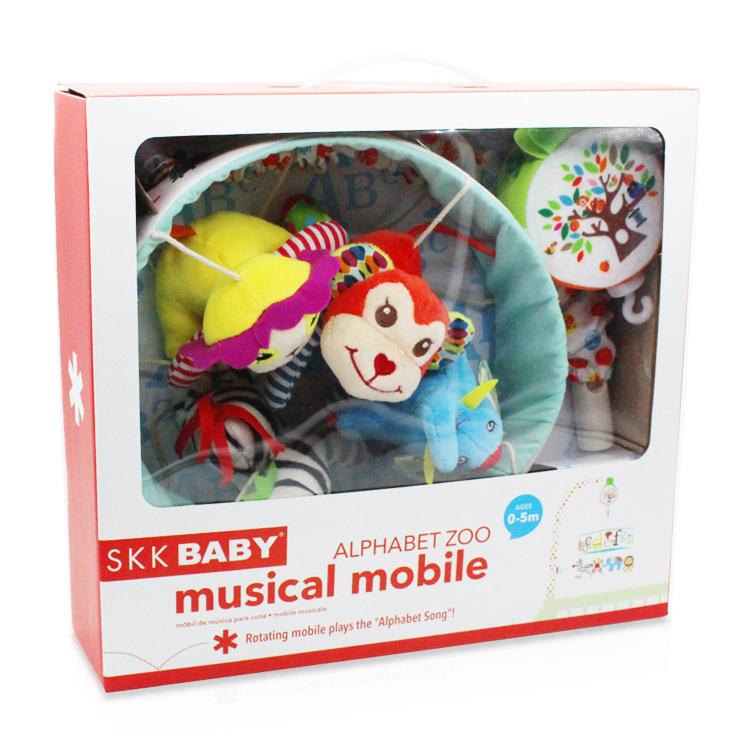 Мобильная звуковая машина для детской кроватки, подвесная игрушка
