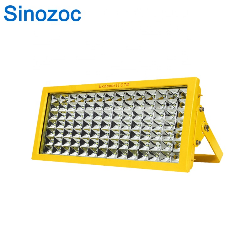Sinozoc Manufacturer IP66 waterproof reflector flood light 250W led explosion proof lighting lamp floodlight