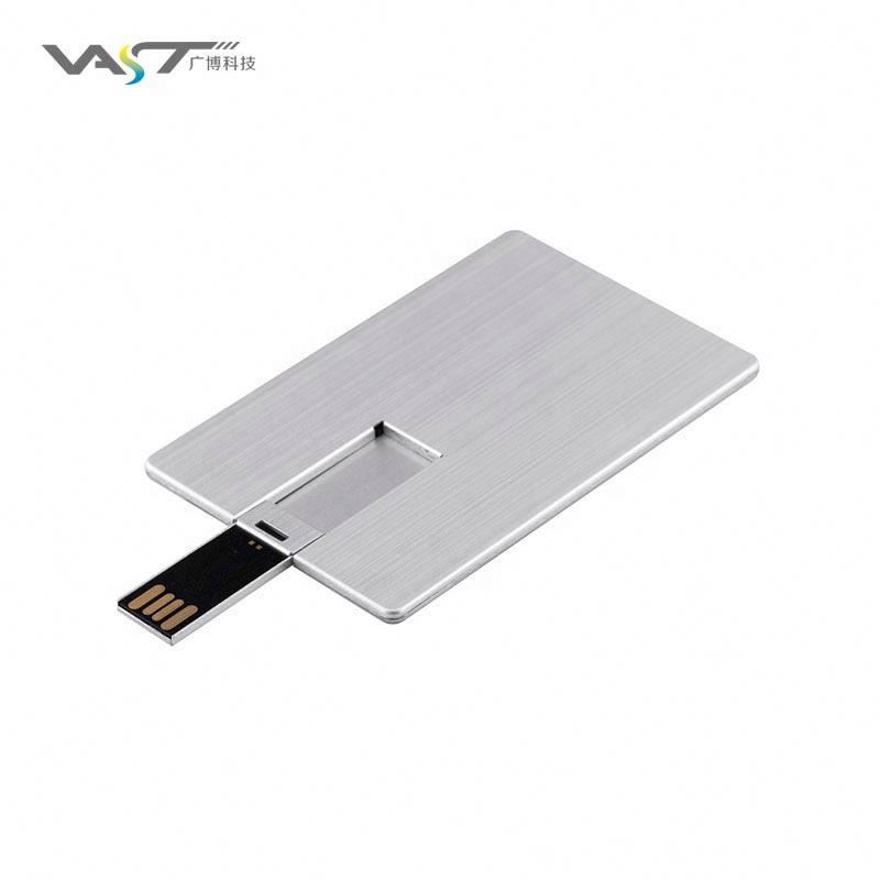 Metallic card usb flash drive pendrive and sticks - USBSKY | USBSKY.NET