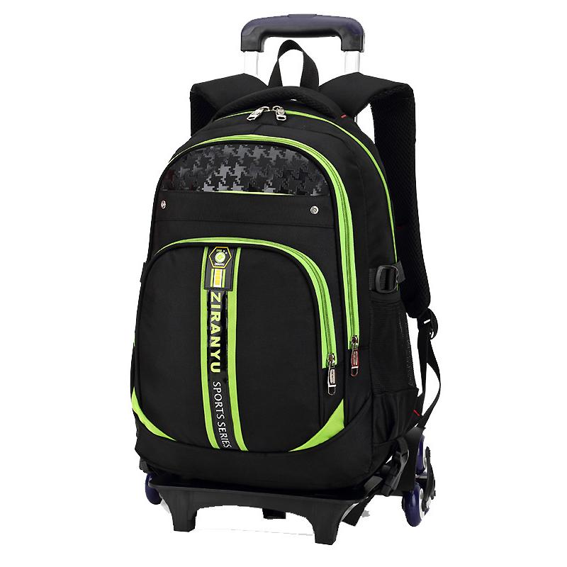 Kids trolley school bag Wholesale Stylish Travel Comfortable Detachable children School Trolley Bag Backpack On wheels
