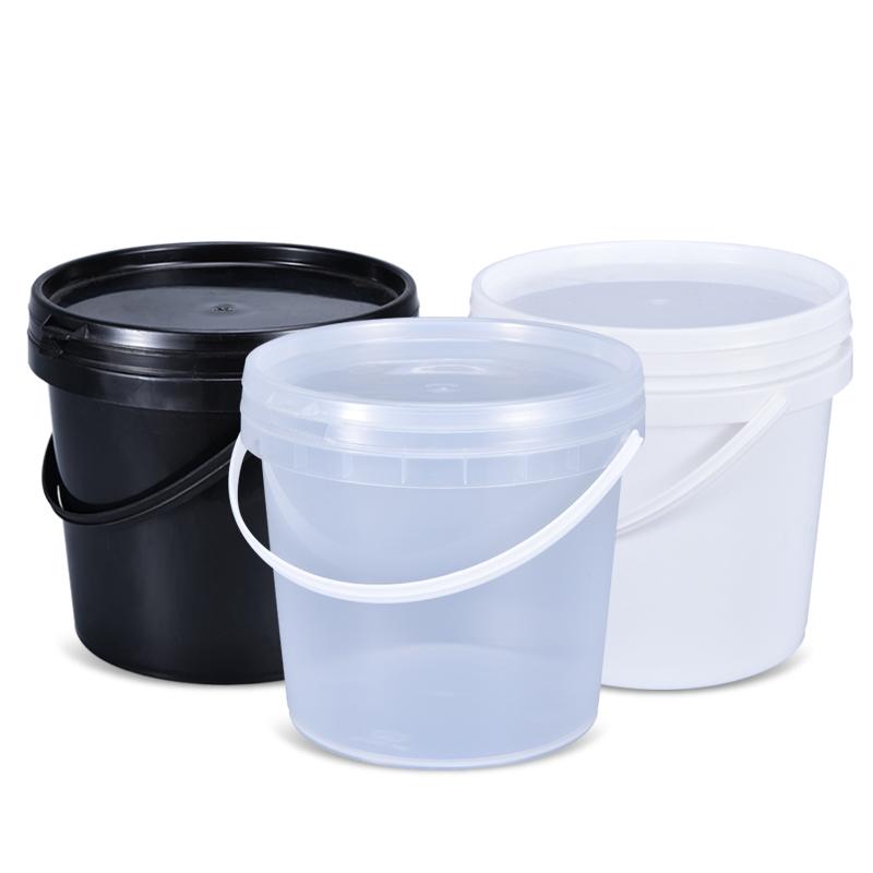 2 литров пищевой пластиковое ведро с крышкой