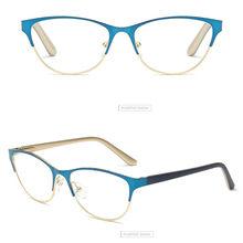 Iboode, полуоправа, очки для чтения «кошачий глаз», женские и мужские, анти усталость, компьютерные оптические очки, ретро очки для пресбиопии, ...(Китай)