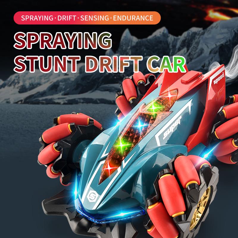 Двойной конколлер спрей 360 градусов RC трюк жестов управления автомобилем