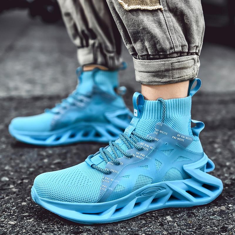 Китайская обувь с логотипом производителя, спортивные беговые кроссовки на высоком каблуке, дышащие кроссовки для мужчин