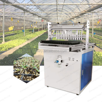 automatic seed planting machine trays seed planting machine nursery seeding machine