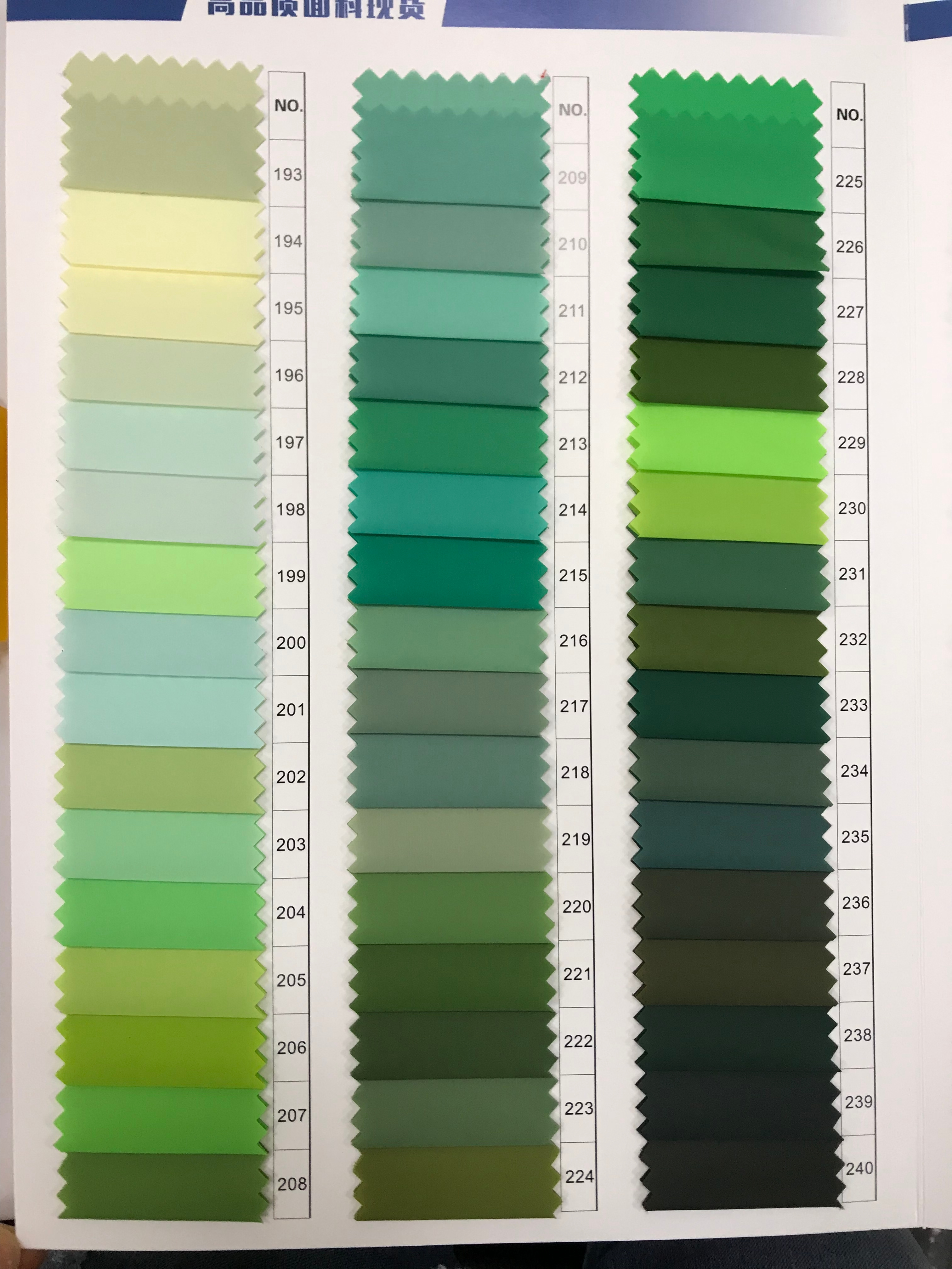 RPET 400 Color Recycled Nylon Fabric made from plastic bottle is Eco-friendly