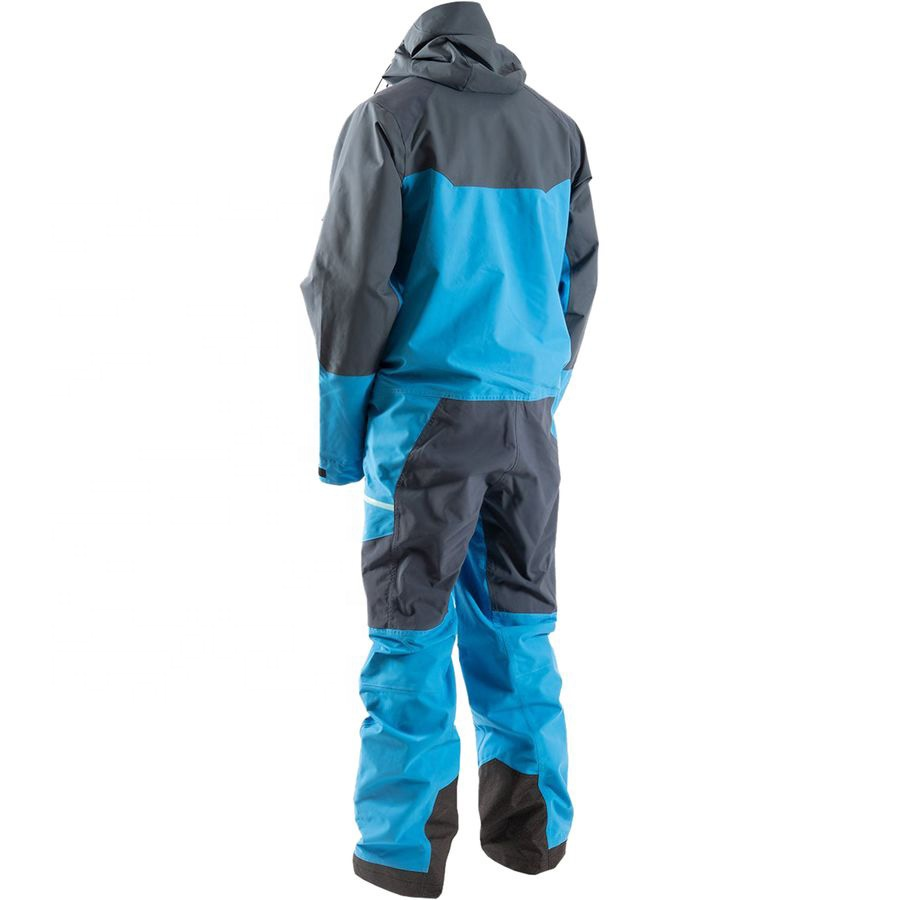 Fully Sealed Protective Snowsuit One Piece Ski Suit Men Snow Suit for skiing snowboarding snowmobiling