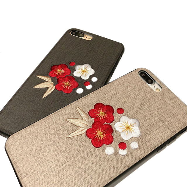 Traditional Chinese Style Back Cover Protective Cell Cases Cross Stitch Embroidered 3d Flower Phone Case For Iphone 11 Pro Max - Buy Embroidered Phone ...