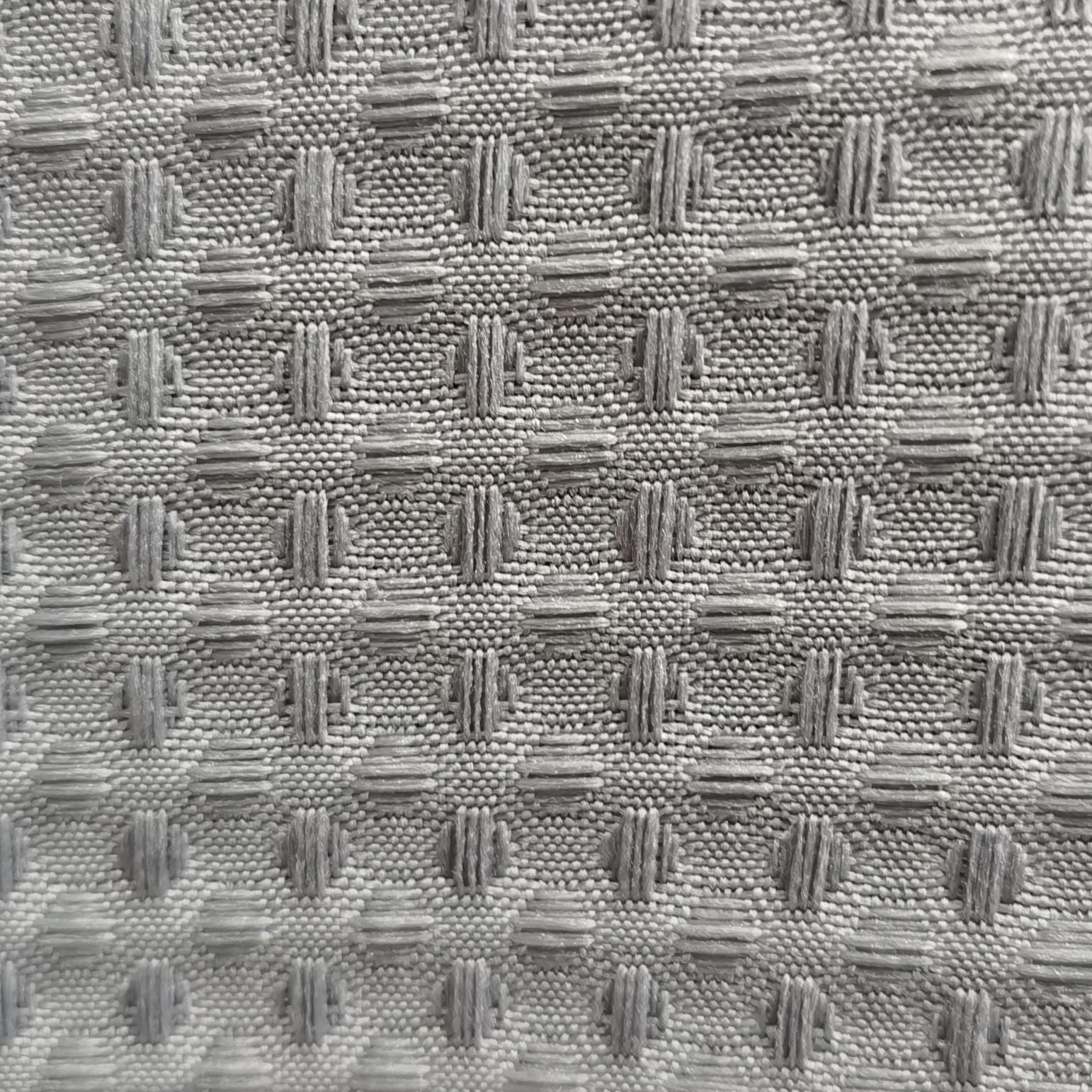 Клетчатая домашняя текстильная ткань из полиэстера с вафельным покрытием для ванной комнаты
