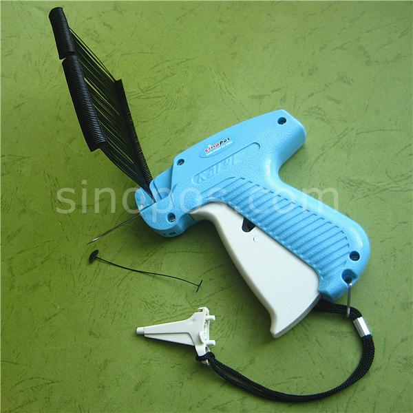 Пистолет для маркировки со сверхдлинными тонкими иглами, плотная ткань, одежда, свитер, тяжелые носки, ковер, ценник, крепление, зажим, булавки, пистолет