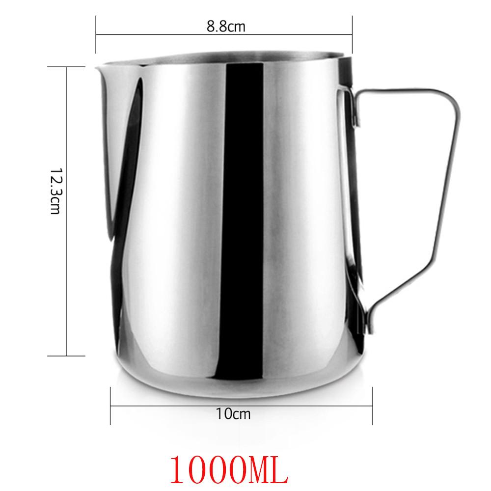 1 шт., нержавеющая сталь, для приготовления молока, кофе, латте, для вспенивания, искусство, кувшин, кружка, чашка для молока, кувшин, капучино, ...(Китай)
