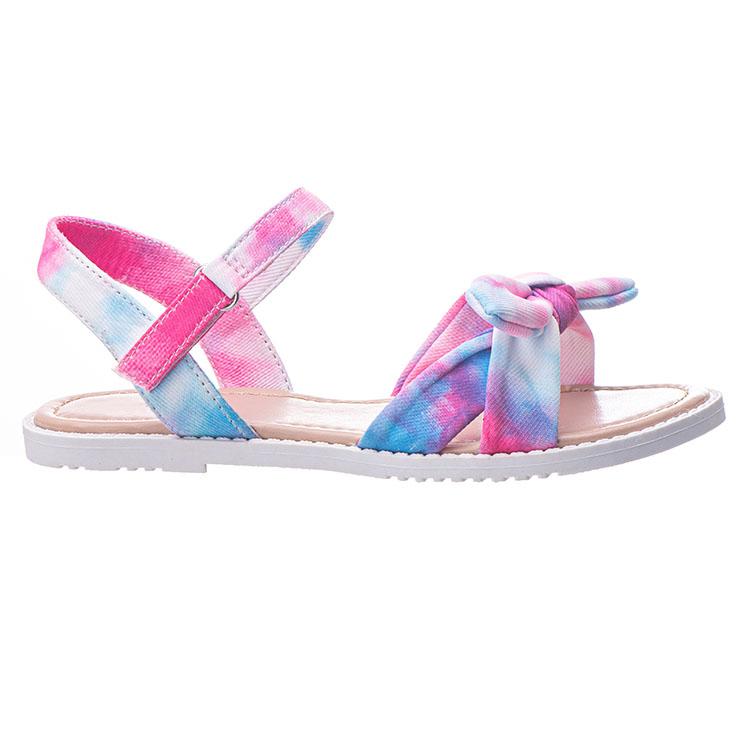 2021 Новое поступление, OEM модные сандалии на плоской подошве для девочек, детская повседневная обувь