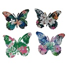 3d Hanging Wall Art Home Hanging Metal Insect Wall Art Decorative Iron 3d Butterfly Wall Decors
