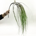 High quality home decoration wholesale promotional orchid grass artificial hanging leaves