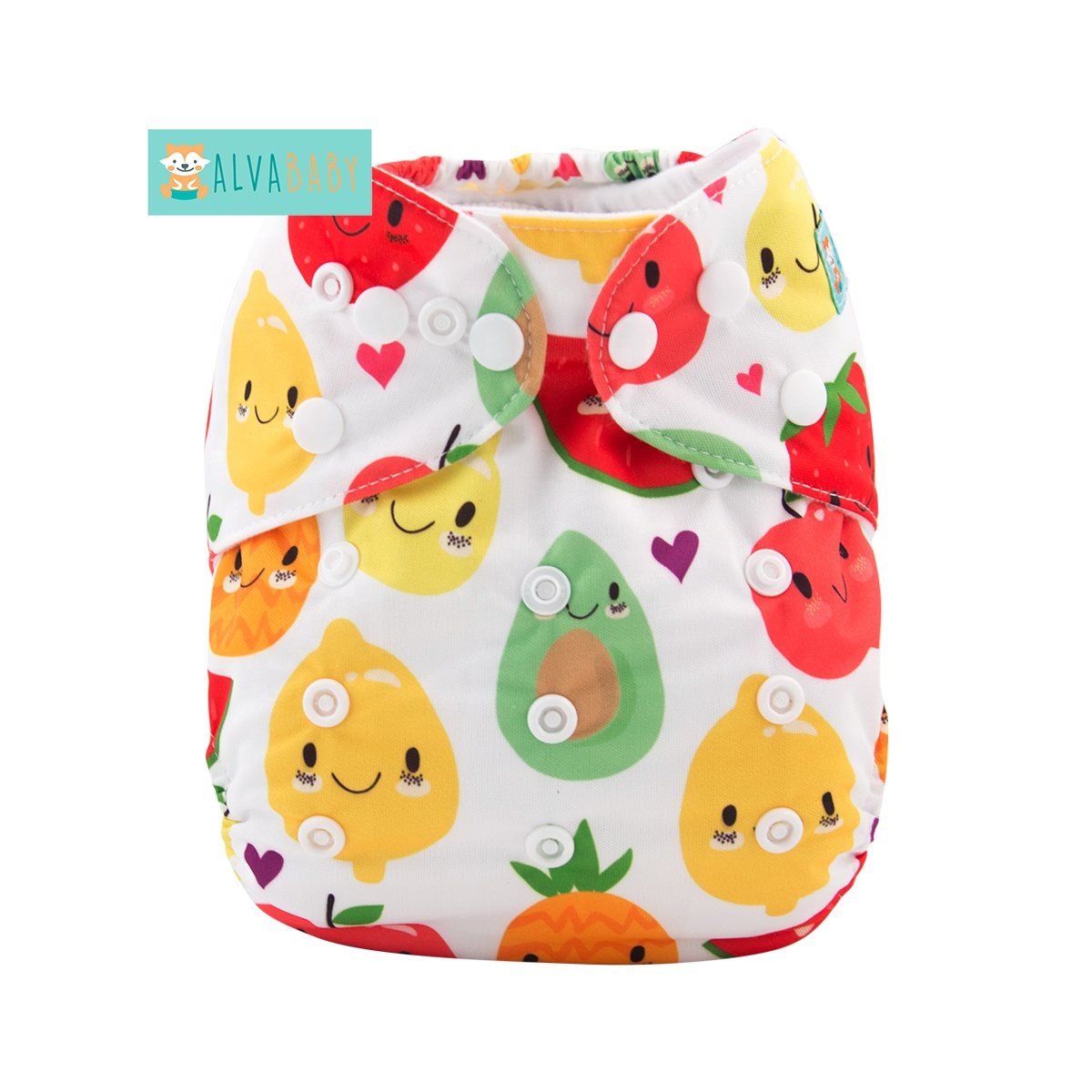 Alvababy New Pattern Rabbit and Balloon Baby Diaper Cloth Diaper Manufacturers in China