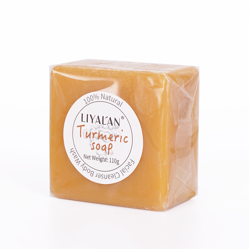 Factory Turmeric Soap - 100% Natural and Organic Loaded with Organic Turmeric Gentle Soap 3.8oz