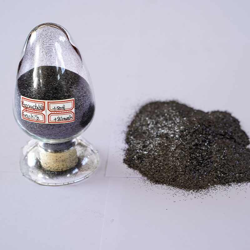 Refractory Resilient Graphite 50 Microns high purity 99% fc Low Sulfur Expanded Graphite For Foundry
