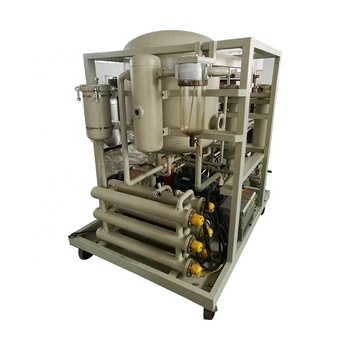 waste oil recycling used motor engine oil distillation refining machine ZLYC50