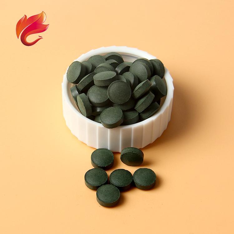 Медицинская добавка, Органическая Спирулина, таблетки 500 мг