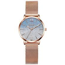OLEVS женские наручные часы модные Романтические звездное небо Дизайнерские повседневные кварцевые наручные часы Подарки для дам(Китай)