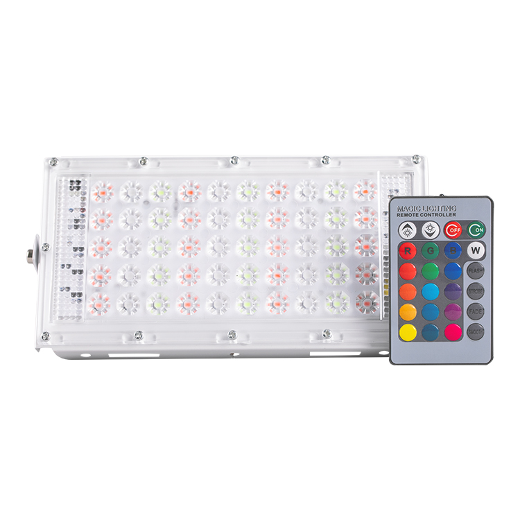 Hot selling rgb 50w led floodlights with wintersweet len brand new ip65 garden led flood light with excellent china manufacturer