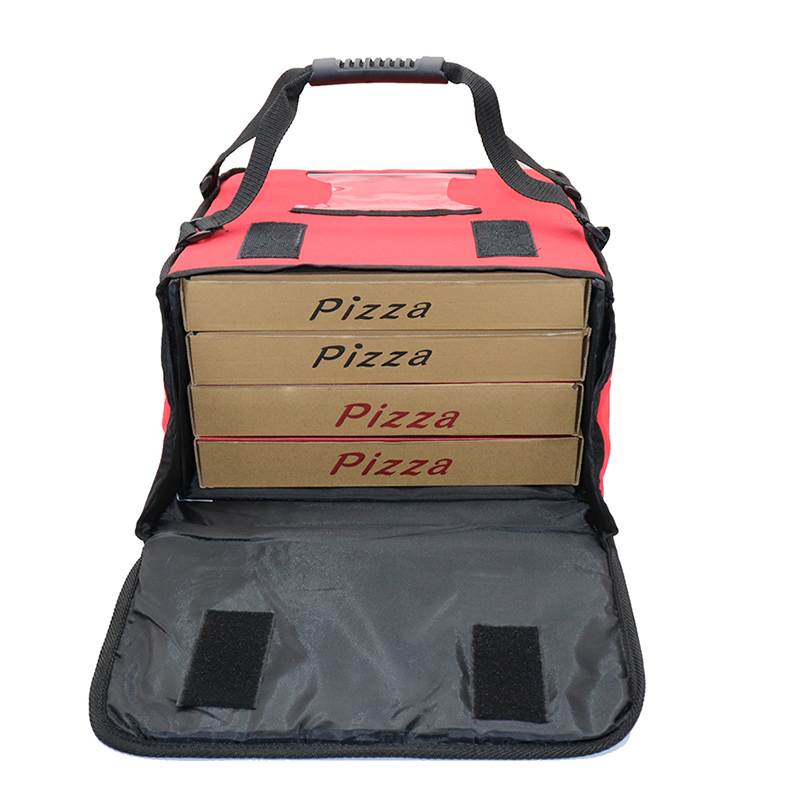 pizza bag delivery Classic Design durable Reusable Pizza Box Insulated Red Pizza Food Delivery Bag