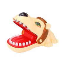 Душевой кран душевая кусает за палец игрушка Большой Лев потянув зубчатый барьер игр Игрушки для детей забавные игрушки для малышей подаро...(China)