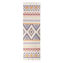 Этнический ковер, кухонный напольный коврик, длинный полосатый геометрический тканый ковер, скандинавский ковер для спальни, хлопок, Восто...(Китай)